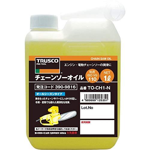 TRUSCO チェーンソーオイル1L TOCHN1
