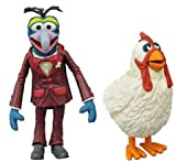 DIAMOND SELECT TOYS The Muppets: Gonzo & Camilla Series 1 Action Figure Set …