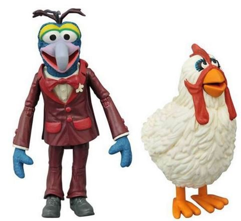 Muppets Diamond Select Toys The Gonzo & Camilla Serie 1 Action Figur Set