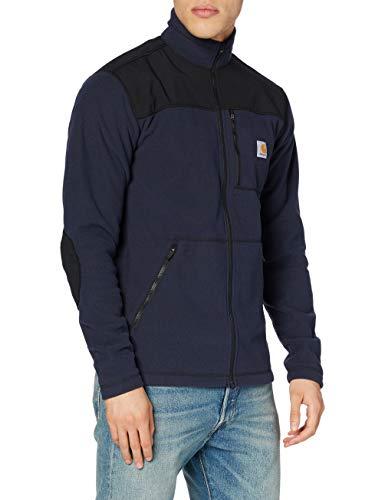 Carhartt Fallon Full-Zip Sweatshirt Maglia di Tuta, Blu Navy, S Uomo