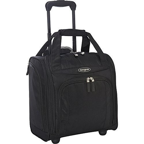 Samsonite Small Underseat Carry-On Luggage, Black, One Size
