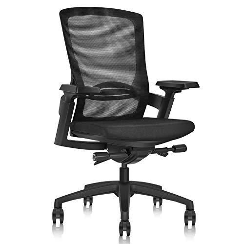 Ergonomic Office Chair with a Liftable Backrest -...