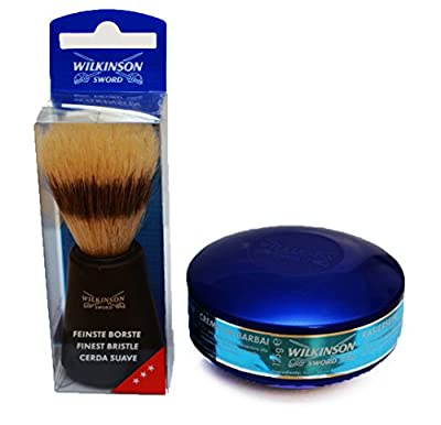 Wilkinson Sword Quality Shaving Brush and Soap Set