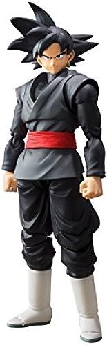 Bandai, 58358-Dragon Ball Super, S.H. Figuarts-Goku, Farbe Schwarz 17 cm, 19810