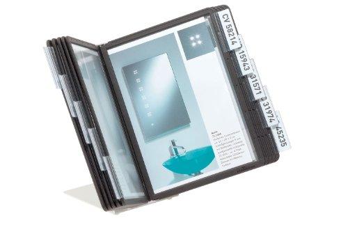 Preisvergleich Produktbild Durable 550601 Tisch-Sichttafelsystem (Vario Table 10