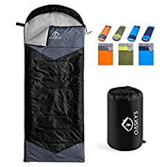 USED FOR 3 SEASONS:Our Sleeping Bags can be used for 3 seasons.They are designed for 10~20 Degrees Celsius. Moreover, these bags also have a weather-resistant design to keep you warm even in extreme conditions and prevent you from any dampness - this...