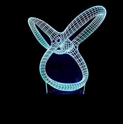 BFMBCHDJ Modelo de manos y pies Lámpara LED 3d 7 Cambio de color ...