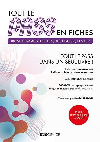Tout le PASS en fiches (French Edition)