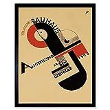 Exhibition Bauhaus Weimar Icon Germany Vintage Retro