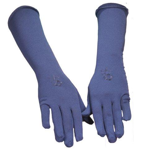 Egypt Bazar Handschuhe - Hijab - Zubehör Accessoires Gebetskleidung Islamische Kleidung (Dunkelblau)