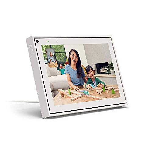 """Facebook Portal Smart Video Calling 10"""" Touch Screen Display with Alexa White"""