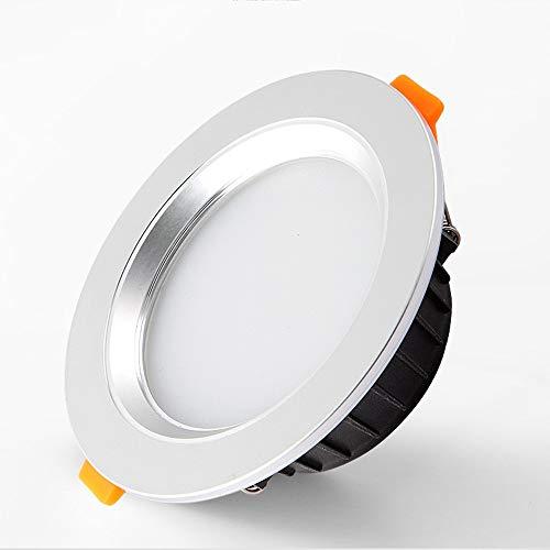 Jtivcs Moderne Runddown Super Bright 3/5/7 / 12W Integration Deckenleuchte LED Embedded Deckenverkleidung Light Commercial Dekoration Beleuchtung Einbauleuchten LED-Panel Licht Laterne