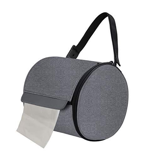 Mead - Porta rotolo di carta igienica, porta rotolo di carta igienica, in custodia impermeabile, dispenser di fazzoletti, accessori per il bagno o la casa