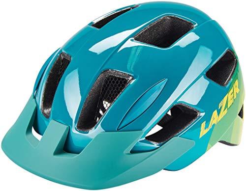 Lazer Gekko Helm mit Insektenschutznetz Kinder Blue Yellow 2021 Fahrradhelm
