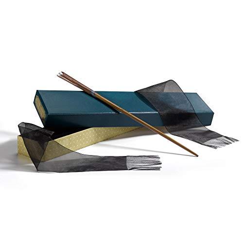 The Noble Collection Bacchetta Magica Newt Scamander in Scatola da Collezione Prodotta Bacchetta Magica di Alta qualità 35 cm per Bacchetta - Oggetti di Scena dal Film Animali Fantastici