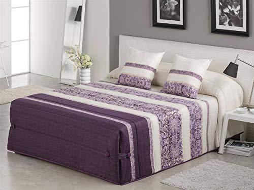 Tejidos JVR LaNovenaNube - Edredón Conforter Amber Cama 180 - Color Azul