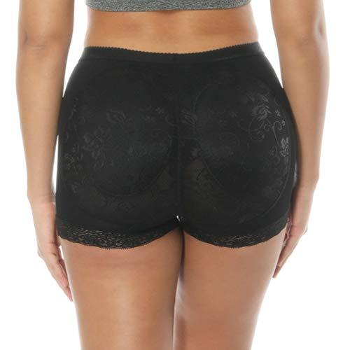 JOYOTER Mujeres Sexy Big Ass Pad Bragas de Control Butt Lifter Hip Enhancer Media Cintura Corta