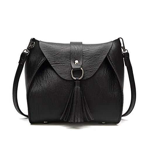 Neue Damen Messenger Bag Damen Tasche Schulter Slant Mini Pu Bag