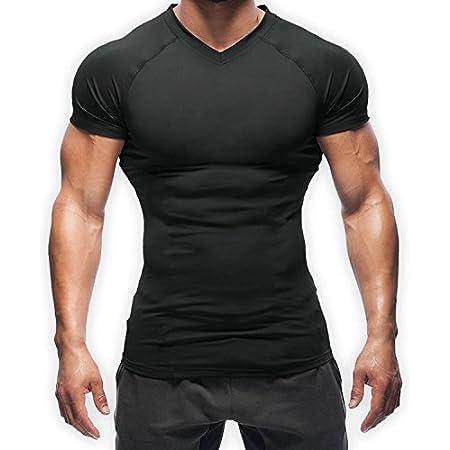 【2枚セット】加圧シャツ SASUKE 鍛える抜くならこの1枚!!最強の加圧で自分の限界を突破せよ!! (黒, M)