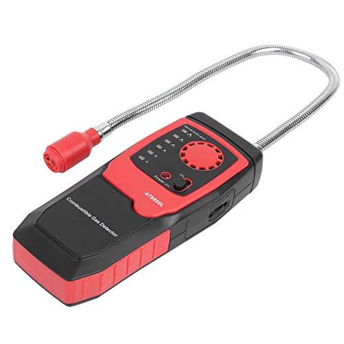 Probador de gas de escape portátil Detector de fugas de gas natural Detector de gas combustible Instrumento de medición de gas para gasolineras