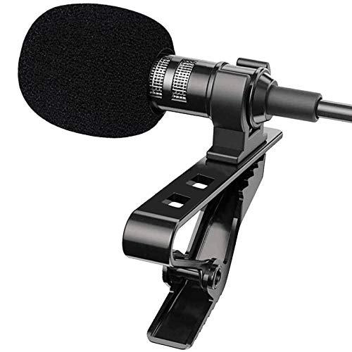 YOLETO Lapel Microphone Kit for PC/Laptop/Camera/Phone