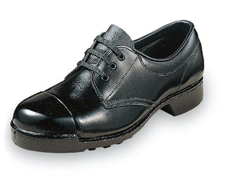 国籍ブル織る爪先強化の外鋼板安全靴?紐タイプ 牛革製【安全靴】《004-0112P》
