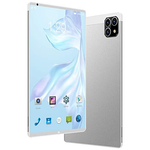 CYY Tableta Pantalla Táctil HD de 8 Pulgadas,Tableta Android 6.0,16GB ROM/Escalable 64GB,Procesador Quad Core,4000mAh Batería,Cámara Dual 2MP+5MP,WiFi/Bluetooth/GPS