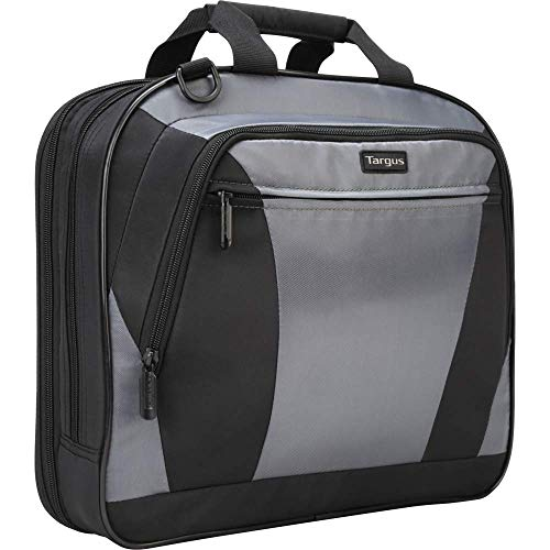 Targus CityLite Laptop Briefcase Shoulder Messenger Bag with Padded Sleeve for 14-Inch Laptop, Black (CVR400)