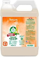 TropiClean Natural Flea and Tick Maximum Strength Shampoo for Dogs, 1 gal - Made in USA