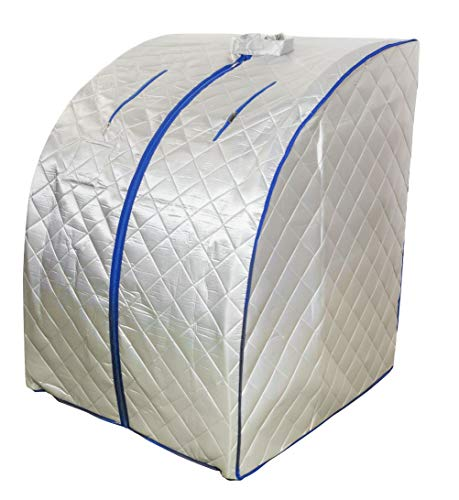 chi-enterprise Sauna a infrarossi Portatile XL Deluxe 1000W