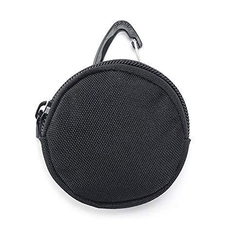 AILOVA Cartera táctica 900D, monedero portátil con gancho para auriculares, mini llavero...