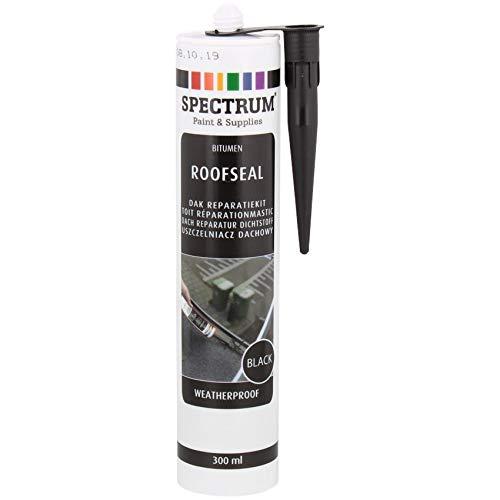 PROFI Dach Dicht Reparatur Bitumenkleber Kaltkleber Dichtstoff Bitumendichter schwarz Kartusche 300 ml