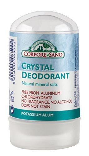 Corpore Sano Mineral Crystal Deodorant -NO PARABENS,ALLERGENS,ALUMINIUM CHLOROHYDRATE,PERFUMES-60 gr/2.1 oz by Corpore Sano
