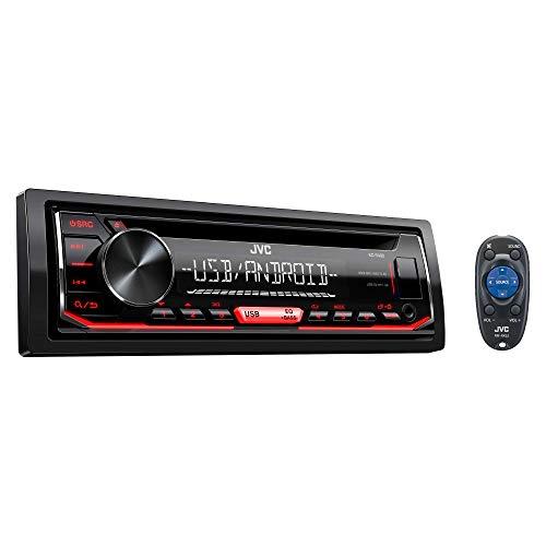 JVC KD-R490 JVC Sinlge DIN / AM/FM / CD / USB / 3.5 Input Car Audio Receiver