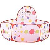 DAUERHAFT Piscina de Bolas para niños Tienda de campaña para niños Piscina de Bolas para bebés para niños pequeños Bolas de Bolas para niños pequeños