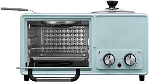 Máquina de desayuno de cuatro adentro multifunción en casa8l, 1,2L sartén eléctrica de 60 minutos cronometrada con vapor, cafetera de pan de huevo autopradas
