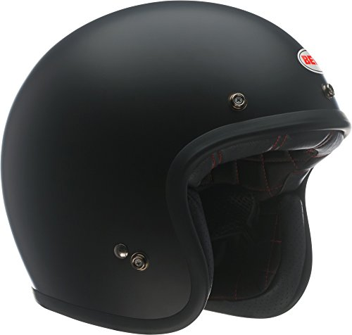 Bell Custom 500 Open-Face Motorcycle Helmet(Solid Matte Black, X-Large)
