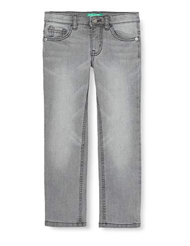 United Colors of Benetton Jungen Pantalone Hose, Mehrfarbig (Grigio 800), 158 (Herstellergröße: EL)