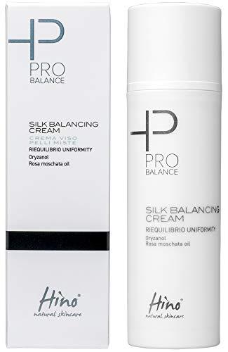 Hino Natural Skincare Silk Balancing Cream - Crema Viso Pelli Miste - 50 Ml