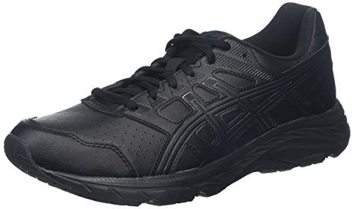 ASICS Gel-Contend 5 SL, Chaussures de Running Femme, Noir (Black Black 001), 39.5 EU