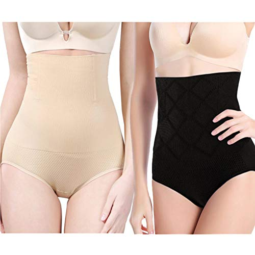 top 10 slim shaper as seen on tv BigEasyStores 2 Pack Super High Waist Body Shaper Slimming Panties Slimming 360 Tummy Control Shaper …