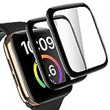 [2 Pezzi] Pellicola Protettiva Full Screen Protector per Apple Watch 40mm Series 6/SE/5/4 – TINICR 0,2 mm Vetro Protettivo Ultra Sottile Antigraffio Pellicola Protettiva Ultra Trasparente