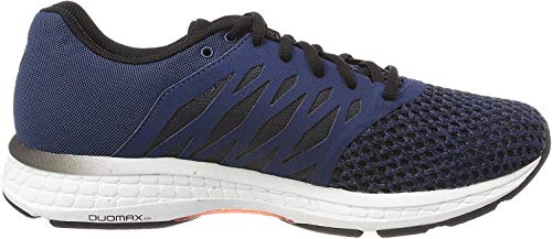 Asics Gel-Exalt 4, Zapatillas de Running para Hombre, Azul (Dark Blue/Black/Shocking Orange 4990), 41.5 EU