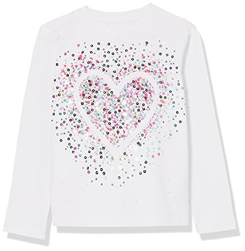 Desigual TS_Core Camiseta, Blanco, 7-8 Años para Niñas