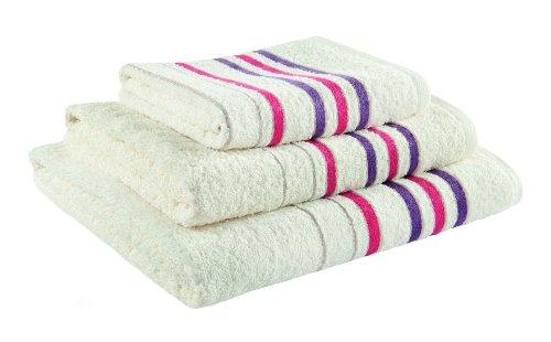 Lila Prune BETZ Lot de 8 Serviettes Set de 2 Serviettes de Bain 2 draps de Bain 2 Serviettes de Toilette 2 lavettes 100/% Coton Deluxe Couleur Blanc