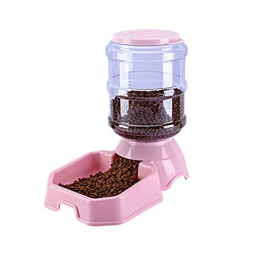 KaariFirefly Mangeoire Automatique pour Animal Domestique en Forme de Pomme carrée pour Chien ou Chat Grande capacité Alimentation pour Animal Domestique 3,8 l