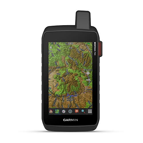 Garmin Montana 700i, Rugged GPS Handheld with Built-in inReach Satellite Technology, Glove-Friendly 5' Color Touchscreen