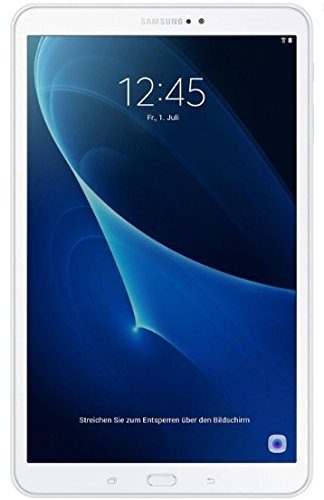 Samsung Galaxy Tab A6 SM-T580 – Tablet Octa 1.6 Ghz, 2 Gb RAM, 8 Mp/2MP, Wi-Fi, 32 Gb eMMC, Android 6.0, Weiß