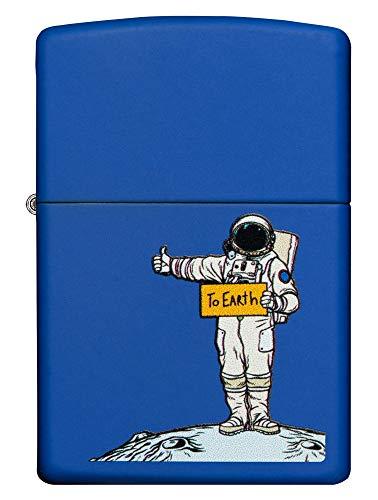 Zippo To Earth Design Accendino, Ottone, 5,83,81,2