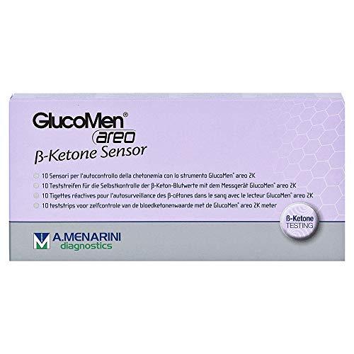 Glucomen areo 2K ß-Ketone Sensor Teststreifen,10St